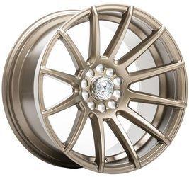 """Felgi aluminiowe 17"""" 59 North Wheels D-005 17x9,5 ET15 5x114,3/120 Matte Bronze"""