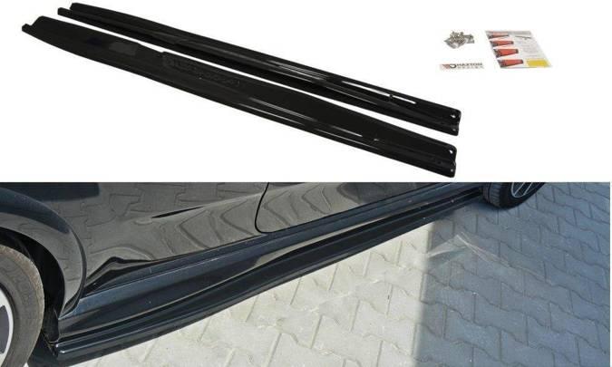 Dokładki progów Maxton Fiat Punto Evo Abarth (czarny mat)