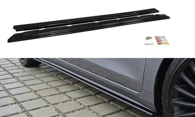 Dokładki progów Maxton Hyundai i30 MK2 (carbon look)