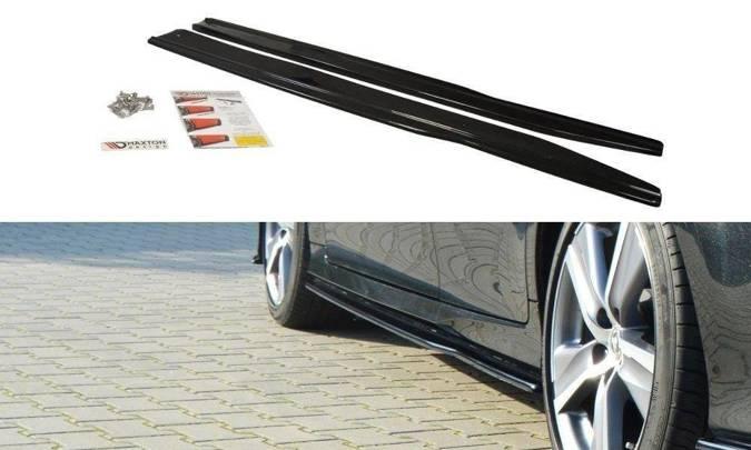 Dokładki progów Maxton Lexus GS MK4 Polift (carbon look)