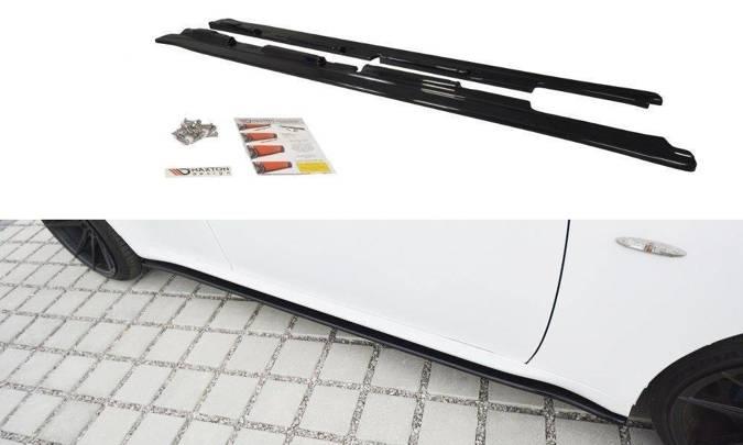 Dokładki progów Maxton Lexus IS MK2 (czarny połysk)