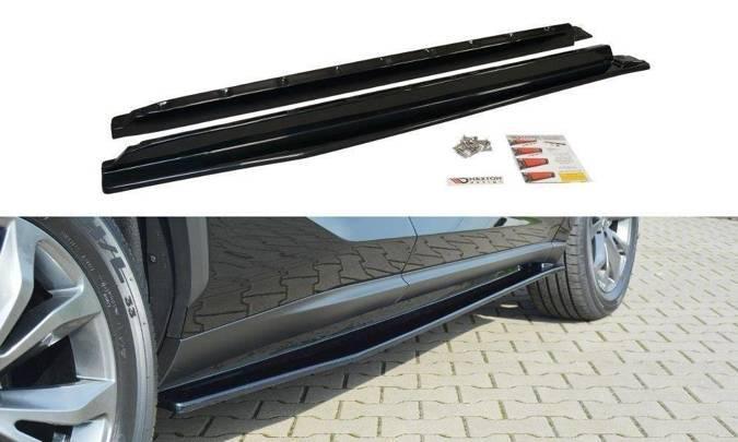 Dokładki progów Maxton Lexus NX Przedlift/Polift (czarny połysk)