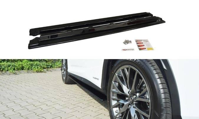 Dokładki progów Maxton Lexus RX MK4 (czarny mat)