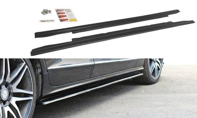 Dokładki progów Maxton Mercedes CLS C218 (carbon look)