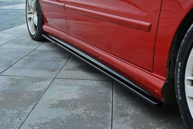 Dokładki progów Maxton Seat Leon Cupra MK1 (carbon look)