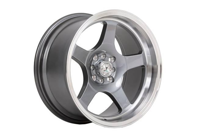 "Felgi aluminiowe 17"" 59 North Wheels D-004 17x8,5 ET15 4x100/114,3 Gloss gunmetal/polished"