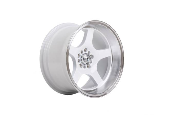 "Felgi aluminiowe 17"" 59 North Wheels D-004 17x9,5 ET5 5x114,3/120 White/polished"