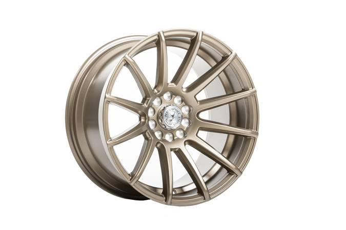 """Felgi aluminiowe 17"""" 59 North Wheels D-005 17x8,5 ET20 5x108/112 Matte Bronze"""