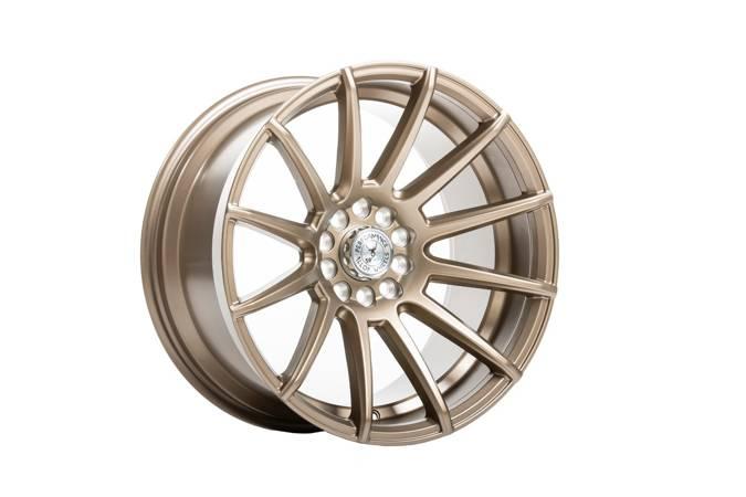 """Felgi aluminiowe 17"""" 59 North Wheels D-005 17x9,5 ET15 5x108/112 Matte Bronze"""