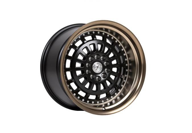 "Felgi aluminiowe 18"" 59 North Wheels D-007 18x9,5 ET20 5x114,3/120 Matteblack/mattebronze lip"