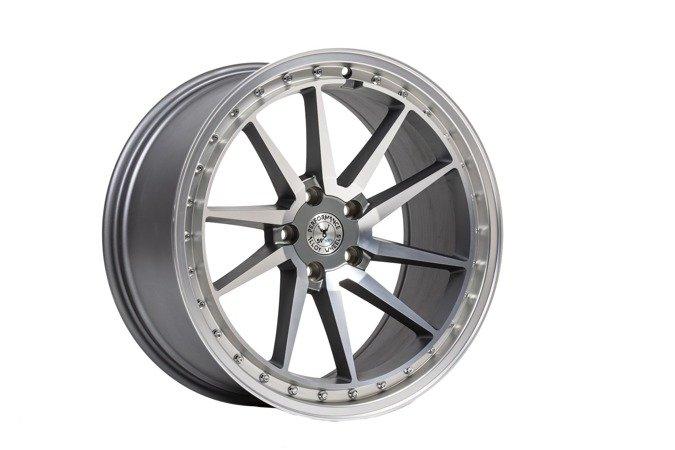 "Felgi aluminiowe 19"" 59 North Wheels S-001 19x9,5 ET40 5x112 Matte gunmetal"