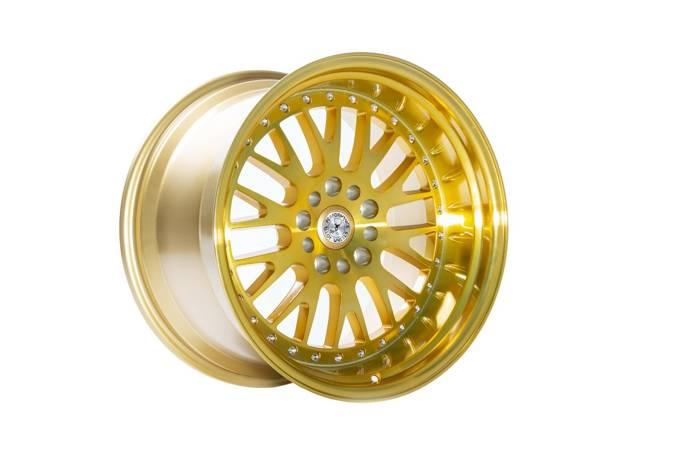 Felgi aluminiowe 59 North Wheels D-003 18x11 ET15 5x114,3/120 Hyper Gold