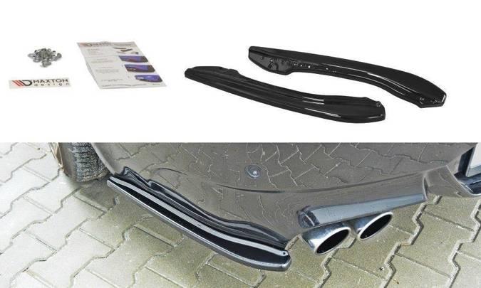Splittery tylne BMW M6 E63 (carbon look)