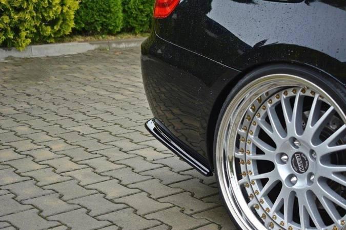 Splittery tylne boczne Maxton BMW 3 E92 M-Pack Polift (czarny mat)
