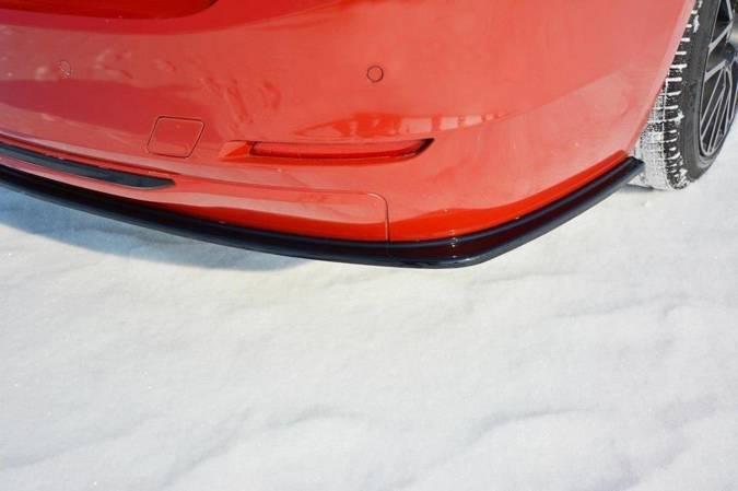 Splittery tylne boczne Maxton BMW 3 F30 (czarny mat)