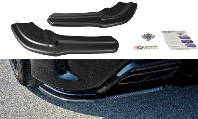 Splittery tylne boczne Maxton Mercedes A W176 AMG Polift (carbon look)